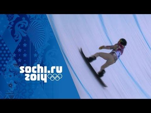 Men's Snowboard Halfpipe - Qualification   Sochi 2014 Winter Olympics