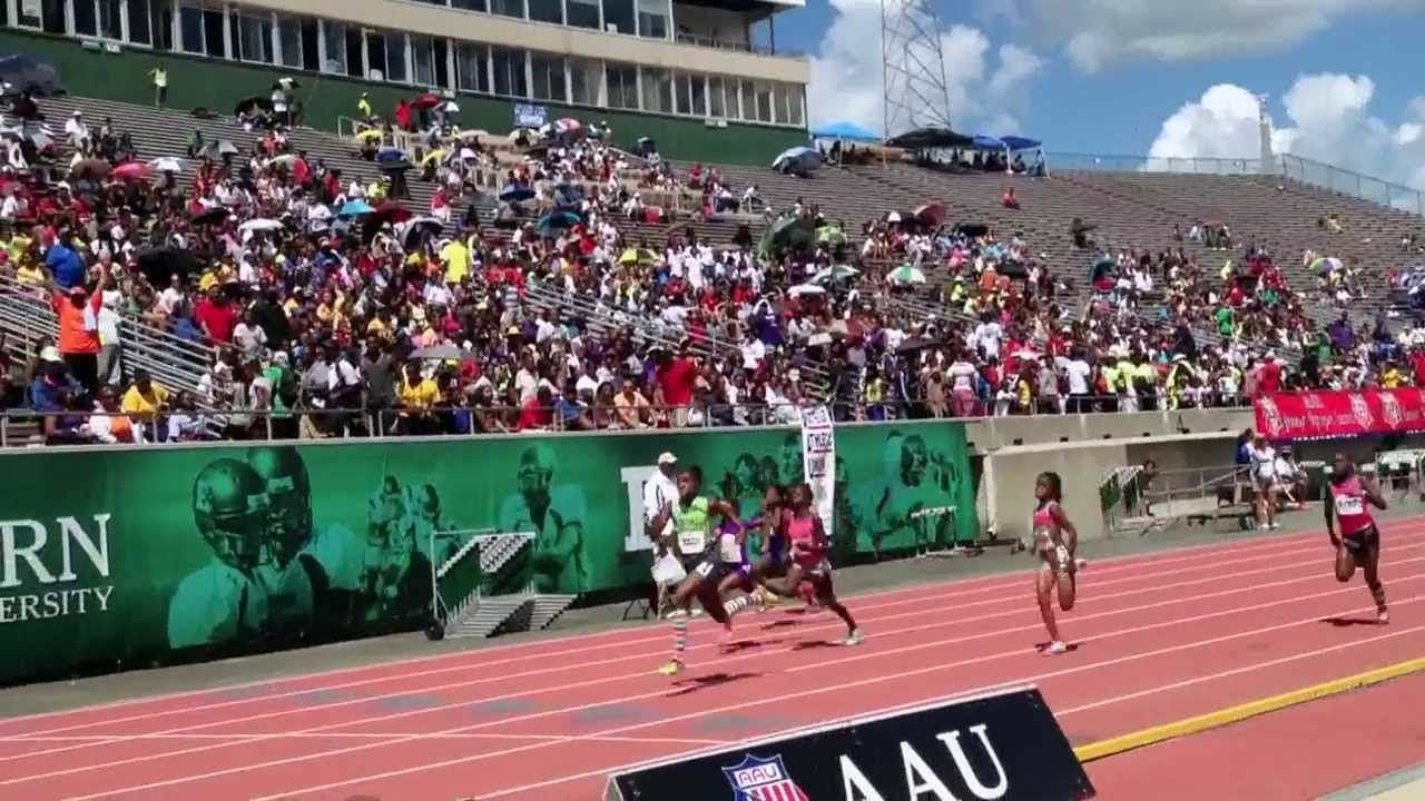 Track junior olympics field and