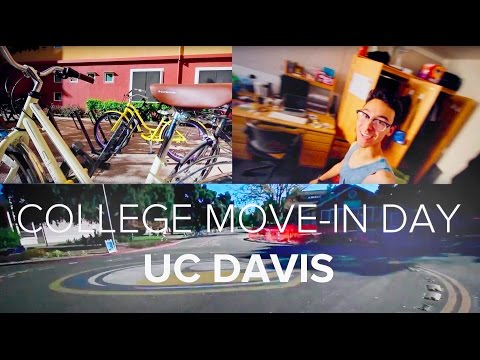 COLLEGE MOVE IN DAY (UC DAVIS)