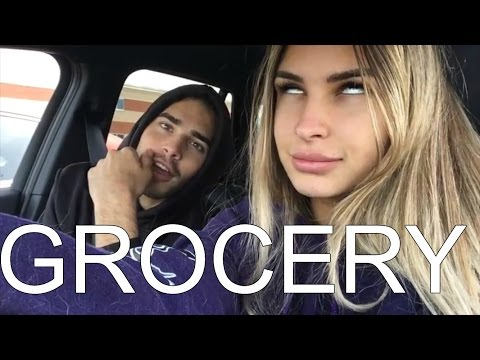 VLOG - Grocery Shopping In Couple...