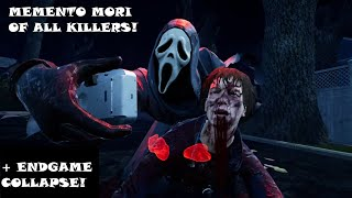 Dead by Daylight - All Killer Memento Mori on Quentin Smith (Survivor PoV)
