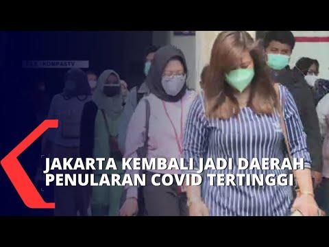 Kasus Bertambah, Jakarta Sumbang Kasus Baru Covid-19 Tertinggi thumbnail