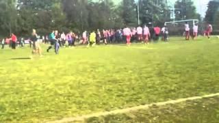 Vechtpartij voetbalwedstrijd Breda