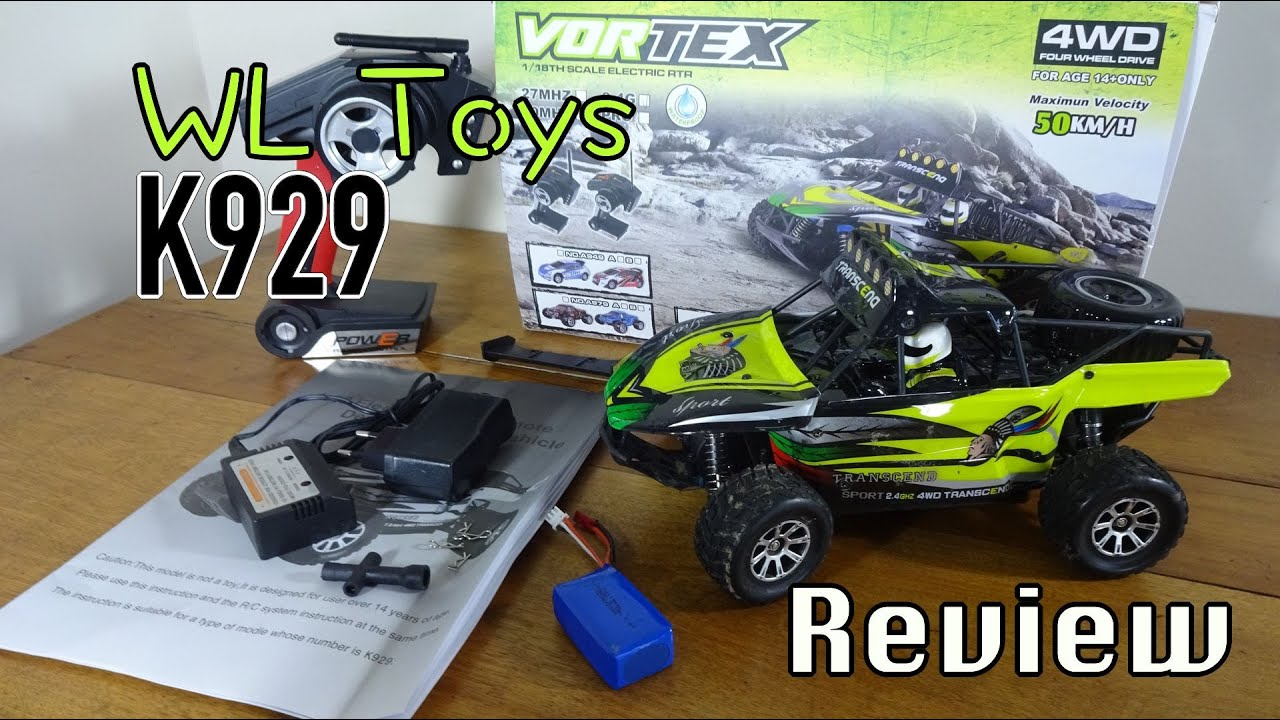 WL Toys K929 Review and Run