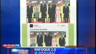 Enfoque 2.0 con Raúl Baz - : Comex pública imagen de Peña Nieto arriba de un bote de pintura