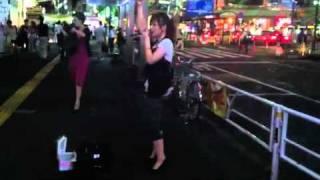 タイトル:星降る夜に出会わせて ストリートライブを撮影したものなので...