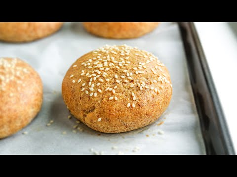 KETO HAMBURGER BUNS | EASY KETO BUNS RECIPE