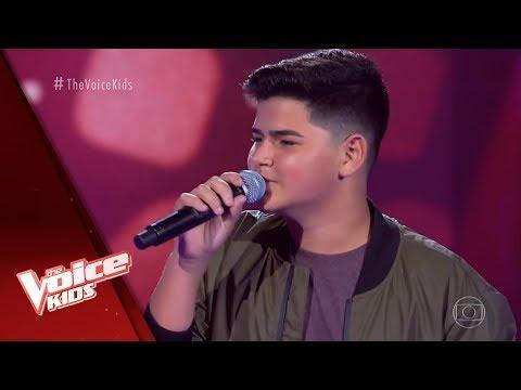 Gusttavo Salles Canta Agora Ahora Nas Audicoes As Cegas The Voice Kids Brasil 5ª Temporada Youtube