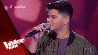 Gusttavo Salles canta 'Agora (Ahora)' nas Audições às Cegas - The Voice Kids Brasil | 5ª Temporada