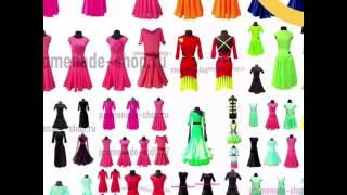 видео Индивидуальный пошив одежды для бальных танцев в Москве