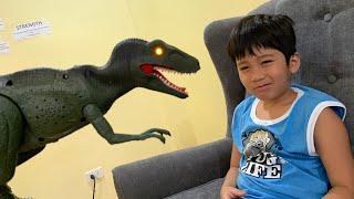 Velociraptor in Breakfast | Skyheart dinosaur toys for kids trex dino