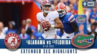 #1 Alabama vs #11 Florida: Extended Highlights | CBS Sports HQ