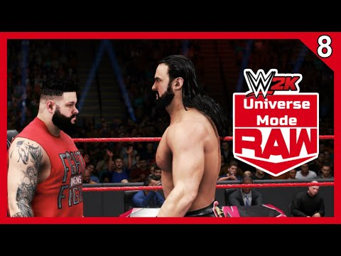 THE GO-HOME SHOW!! - WWE 2K Universe Mode - Raw - Episode 8