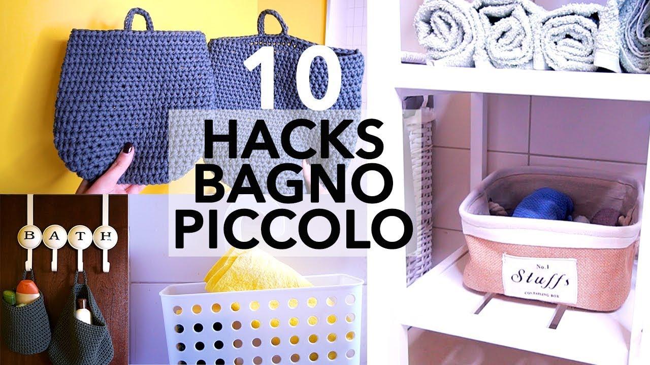 Organizzare Il Bagno.10 Life Hacks Casa Economici Come Organizzare Bagno Piccolo Hacks Low Cost
