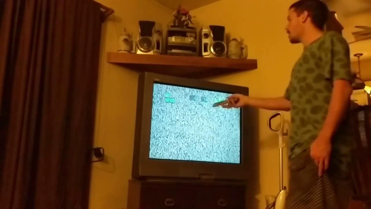 HOWTO: Sony trinitron TV Serice Menu (neat)