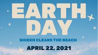 Earth Day Beach Cleanup!🌎 | SHIEKH