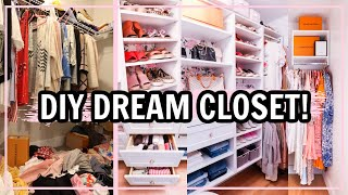ULTIMATE DREAM CLOSET TOUR! CLOSET MAKEOVER Before and After ORGANIZATION IDEAS! | Alexandra Beuter