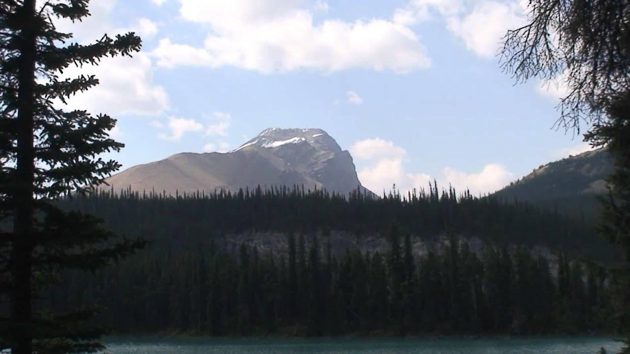 Brazeau Lake Campground In HD Jasper National Park Alberta Canada