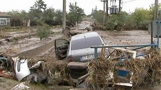 Romanya'da aşırı yağışlar sel felaketine yol açtı