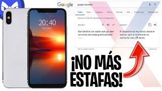 COMPRANDO iPhone X CLON CON NOTCH  REAL