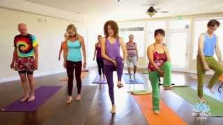 Desiree Rumbaugh Wisdom Warriors Yoga: Standing Poses, Inversions, Forward Bends