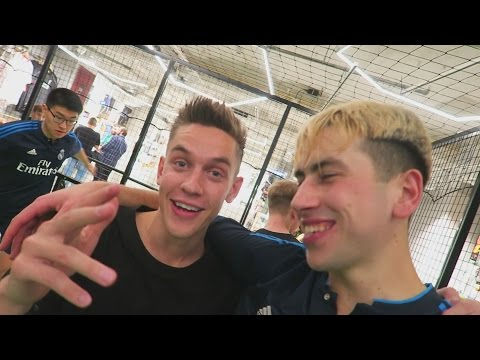 Chilling with Football Youtubers in Denmark!! (UNISPORT Event)