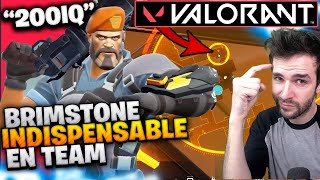 🔥LES ASTUCES 200 IQ SUR VALORANT & BRIMSTONE = INDISPENSABLE en team (Gameplay Commenté Skyyart Fr)