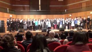 20150124 李昊嘉@香港旋律十周年音樂會 HKMM 10 IN CONCERT - 大合唱-「點點.旋律」+ 大合照
