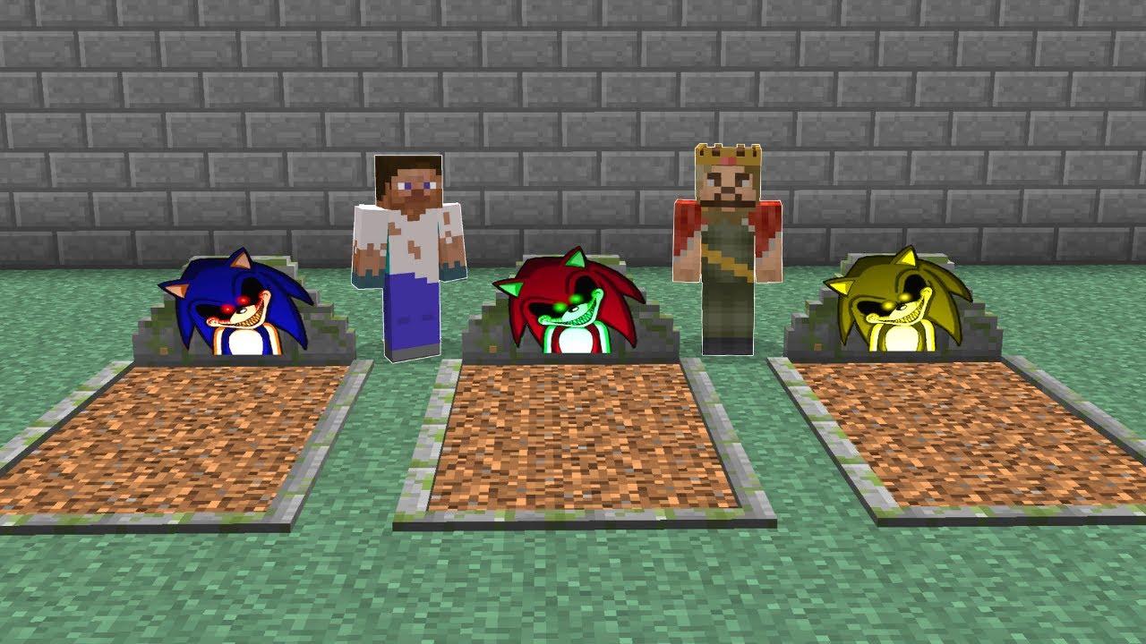 SAKIN KORKUNÇ SONİC MEZARINI SEÇME! 😱 - Minecraft