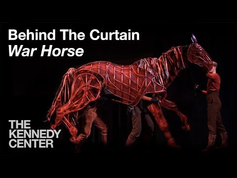 Behind the Curtain: War Horse - Joey the Horse
