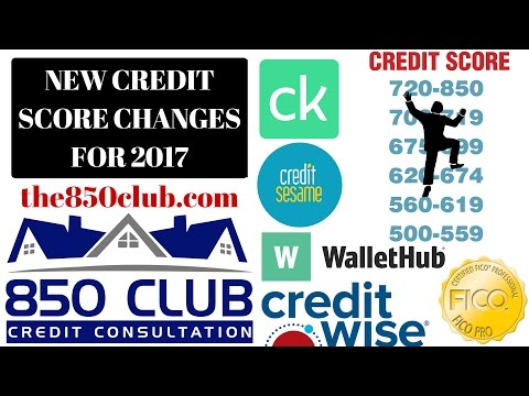 New Credit Score Changes In 2018 For Credit Karma, Credit Sesame & Wise,& Wallet Hub - Credit Report
