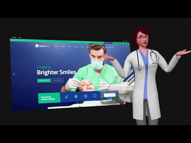 AvatarBuilder Demo Project: Professional Mockup Showcase (Dentist) - Top Video Tools