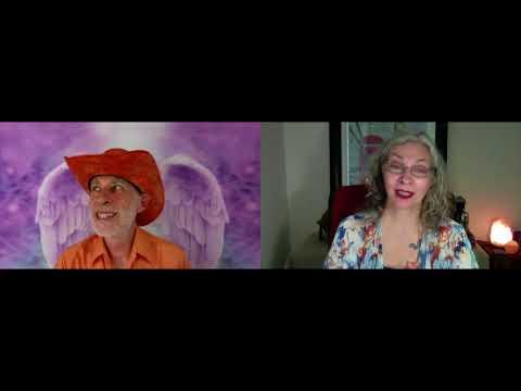Cool Chat About Angels With Swami Sadashiva Tirtha, The Orange Cowboy