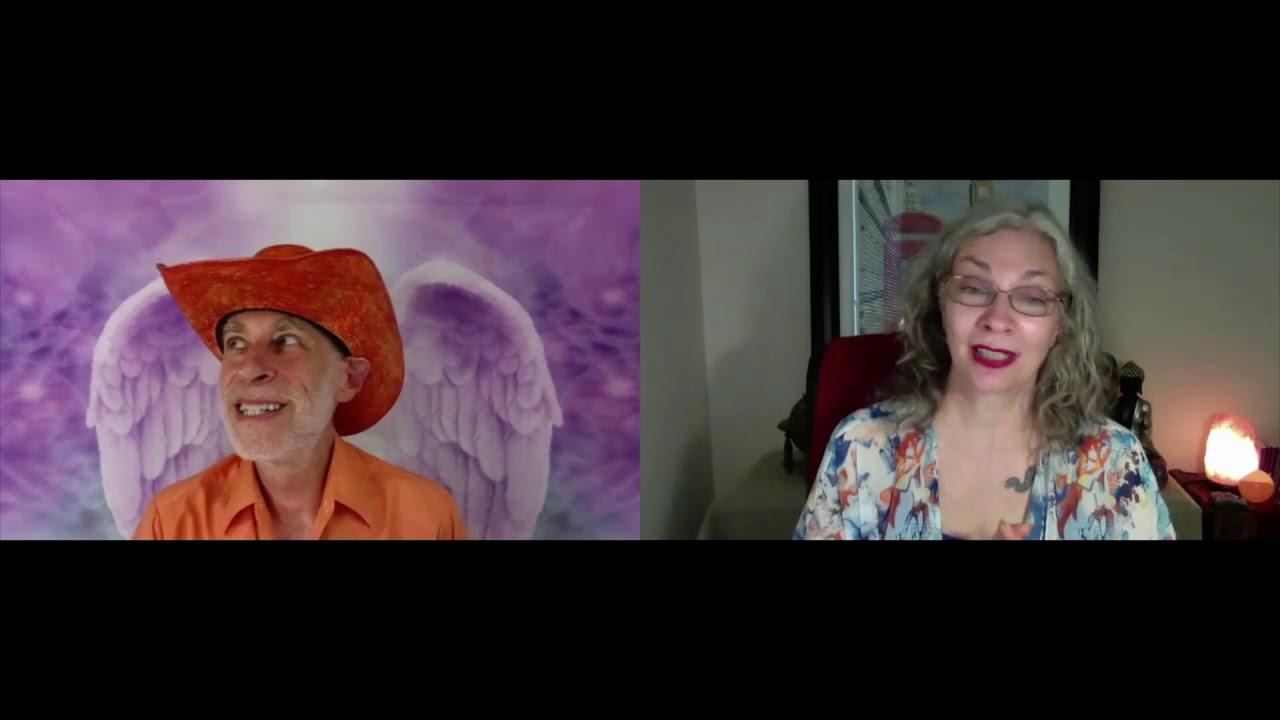 Cool Chat About Angels with Swami Sadashiva Tirtha, The Orange Cowboy