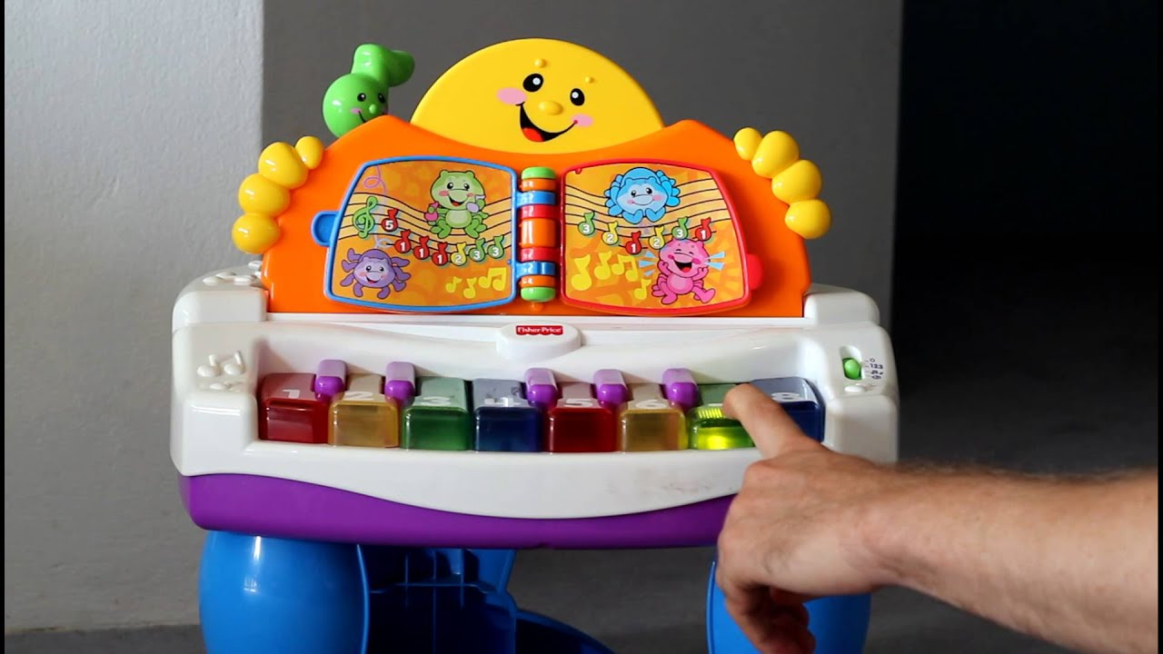 Fisher Price Laugh And Learn Baby Grand Piano Great