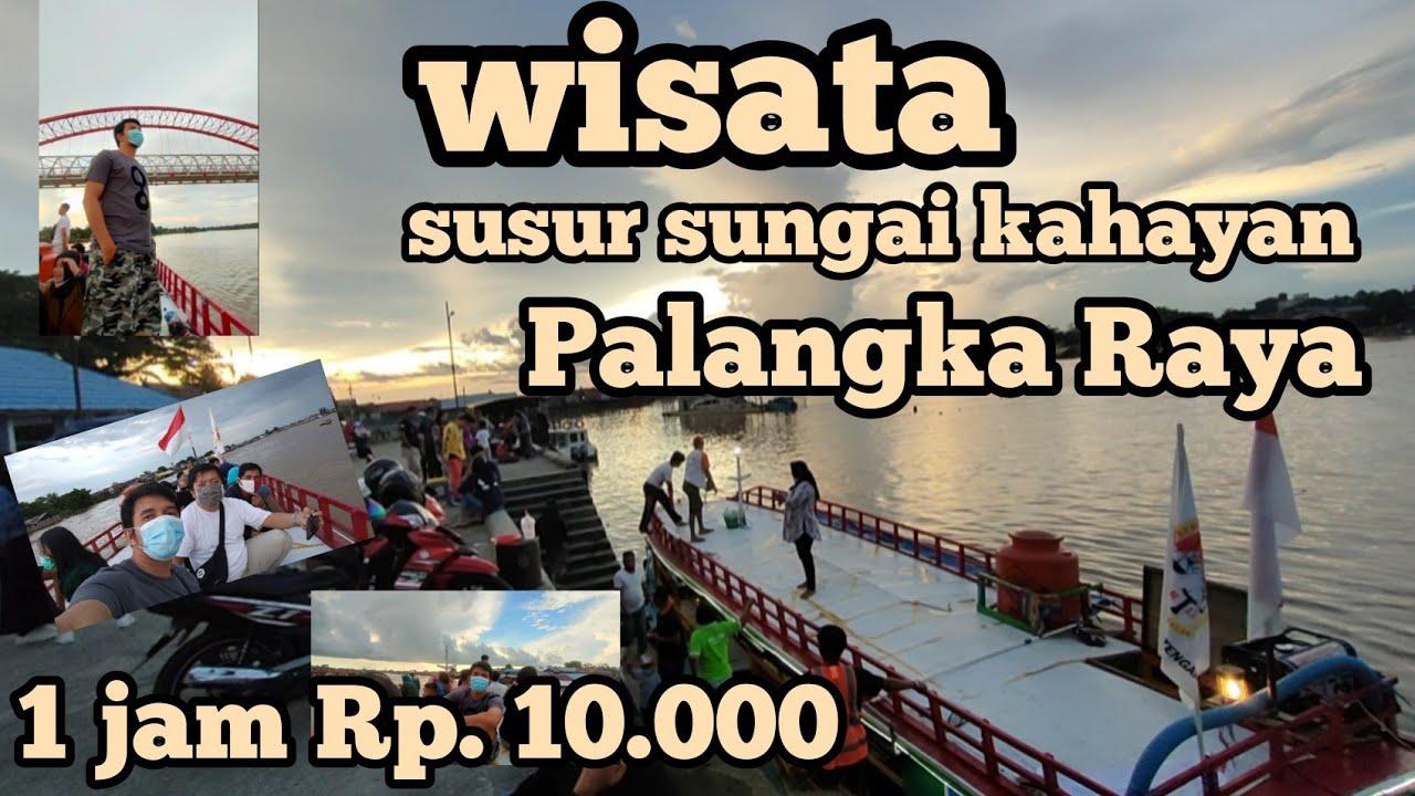 Wisata Pelabuhan Rambang , susur sungai cuma Rp. 10.000,- 1 jam perjalanan. wahhhh murah banget..