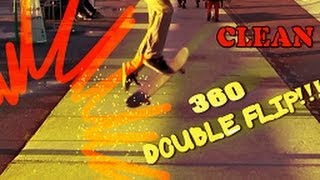 CLEANEST 360 DOUBLE FLIP EVER!
