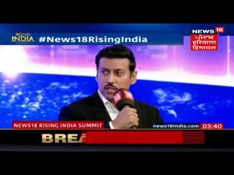 Rajyavardhan Singh Rathore On Religion And Casteism In Indian Politics   News18RisingIndia
