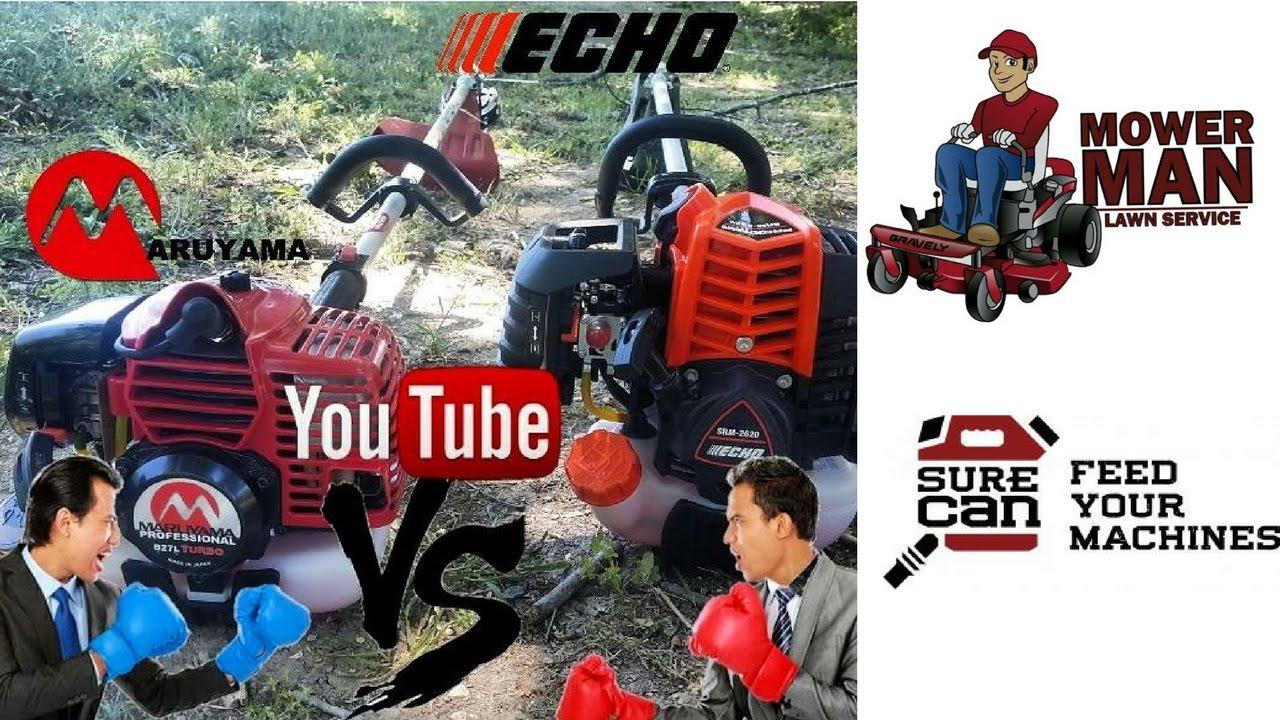 Maruyama B27L Turbo vs Echo 2620 (un-boxing)
