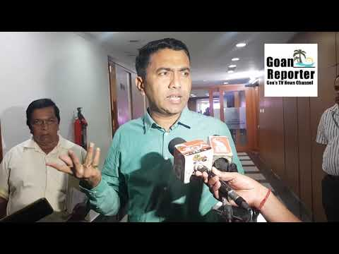 Goan Reporter:: We would take a review on Marina Project after Public Hearing says CM Dr Pramod
