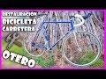 RESTAURACIÓN y MEJORA de una BICICLETA de CARRETERA OTERO | RESTAURACIONES BICICLETAS