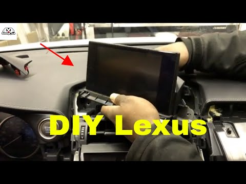 "DIY How to Install second generation 10.25"" android screen for Lexus NX"