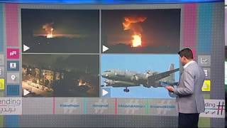 بي_بي_سي_ترندنيغ: نشرح بالخرائط كيف أسقطت الطائرة الروسية  بنيران سورية