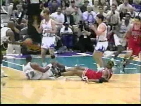Bulls vs Jazz 1998 Finals - Game 6 - Michael Jordan