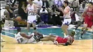 Bulls vs Jazz 1998 Finals - Game 6 - Michael Jordan's last game as a Bull