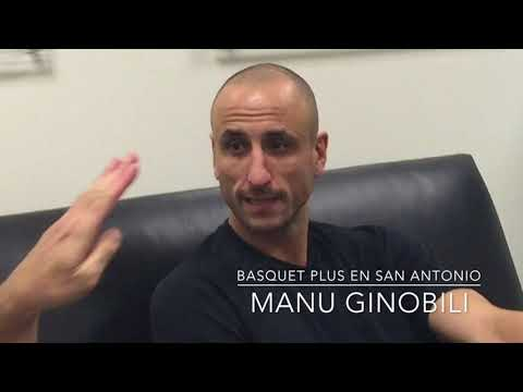 """Básquet Plus con Manu en San Antonio: """"Si no entramos a los playoffs no me voy a hacer mala sangre"""""""