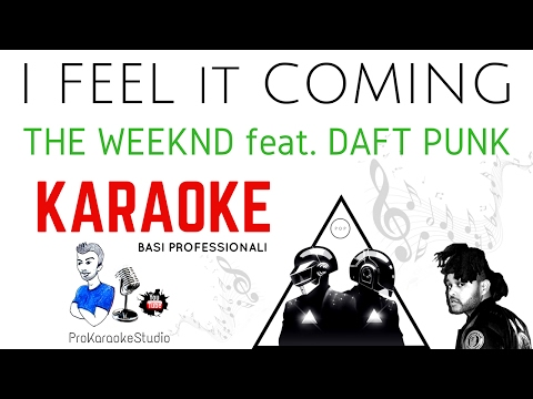 I FEEL IT COMING (The Weeknd feat  Daft Punk) BASE...