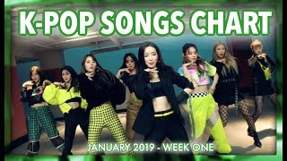 K-POP SONGS CHART | JANUARY 2019 (WEEK 1)