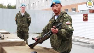 видео Военная спортивная игра «Зарница»