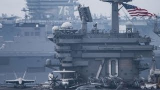 Sea of Japan: TWO Carrier Strike Groups – USS Vinson & USS Reagan – in AWESOME SHOW of NAVAL FORCE!